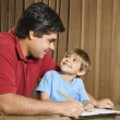 Father and son. — Stock Photo #9305980