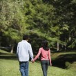Couple holding hands. — Stock Photo #9306160