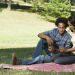 Romantic couple. — Stock Photo #9306228
