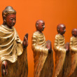 Buddhist statues. — Stock Photo #9306764