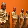 Buddhist statues. - Stock Photo