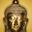 Stock Photo: Bronze Buddhhead.
