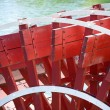 Paddlewheel of riverboat. — Stock Photo #9307291