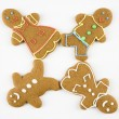 Gingerbread cookies. - Stock Photo