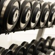 Stock Photo: Free weights