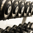 Free weights — Stock Photo #9309582