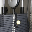 Weight rack machine — Stock Photo #9309593