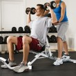 Fitness training — Stock Photo #9309691