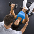Fitness training — Stock Photo #9309695