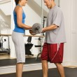 Fitness partners — Stock Photo #9309699