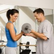 Weight workout — Stock Photo #9309700