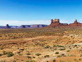 Desert butte landscape. — Stock Photo
