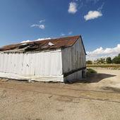 Zniszczony budynek. — Zdjęcie stockowe