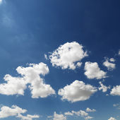 Cumulus clouds. — Stock Photo