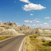 Badlands, North Dakota. — Stockfoto