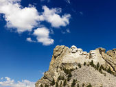 Mount Rushmore and sky. — Stock Photo