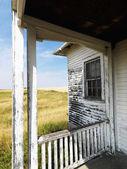 老朽化した建物. — ストック写真