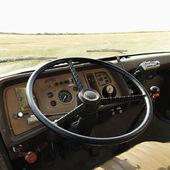 Interior of farm truck. — Stock Photo