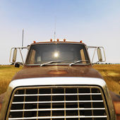 Front view of farm truck. — Stock Photo