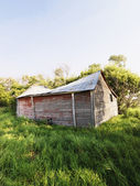 Dilapidated barn. — Foto de Stock