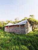 Polorozpadlá stodola. — Stock fotografie