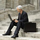 Businessman working. — Stock Photo