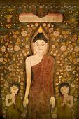 Buddha tapestry. — Stock Photo