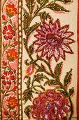 çiçek tekstil. — Stok fotoğraf