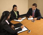 Zakelijke bijeenkomst. — Stockfoto