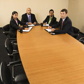 Businesspeople in meeting. — Stock Photo