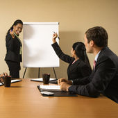 Business teamwork. — Stock Photo