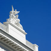 Detail of Sacramento capitol — Stock Photo