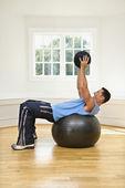 Strength training — Stock Photo