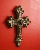 Ornate cross. — Stock Photo