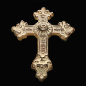 Ornamental cross. — 图库照片