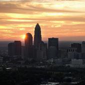 Charlotte, NC skyline. — Stock Photo