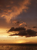 Sunset over the Pacific. — Stock Photo