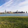 Stock Photo: Lake Michigan, Chicago.