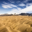 Great Sand Dunes NP, Colorado. — Stock Photo