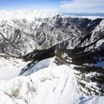 Snowy Mountain Range — Stock Photo #9310639