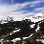 Snowy Mountain Peaks — Stock Photo #9310780