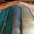 Close up of tailings pond. — Zdjęcie stockowe