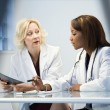 Stock Photo: Female doctors