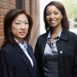 Stock Photo: Businesswomen portrait