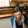 Woman on cellphone — Stock Photo #9311515