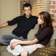 Stockfoto: Couple at home