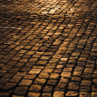 Royalty-Free Stock Photo: Cobblestone Street