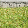 "Gravestone with ""Daddy"" — Stock Photo"