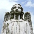 Stock Photo: Guardian angel statue