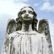 Guardian angel statue - Stock Photo